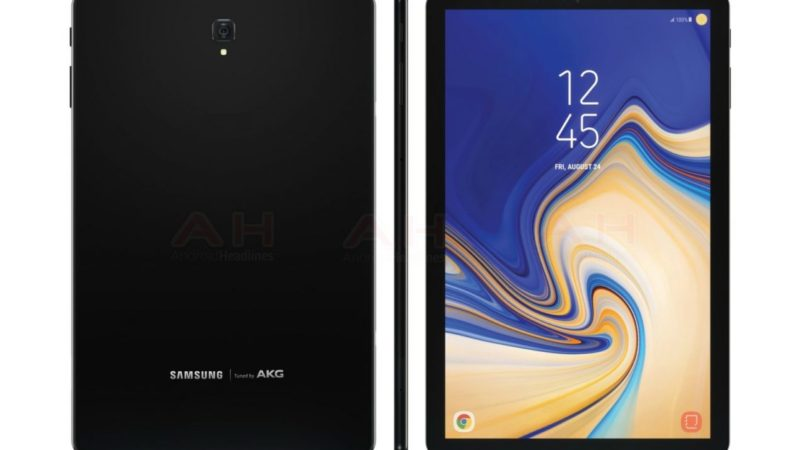 Samsung Galaxy Tab S4: ultime indiscrezioni