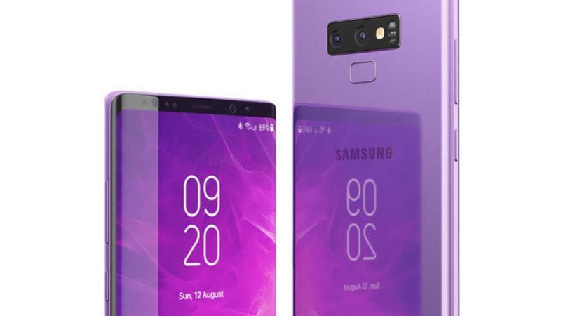 Samsung Galaxy Note 9 nuovi colori e nuova S-Pen