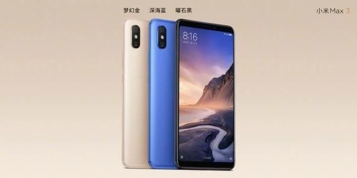 Xiaomi mi max 3 caratteristiche tecniche
