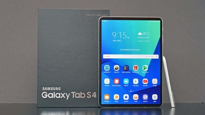 Galaxy Tab S4 una prima immagine ne svela il design