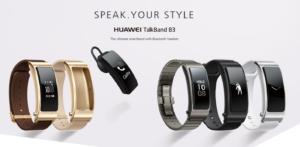 Huawei Talkband B3 design