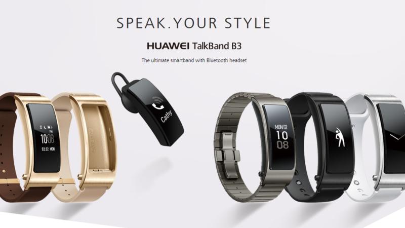 Huawei Talkband B3 caratteristiche tecniche e prezzo
