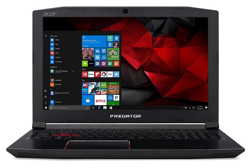 Acer Predator Helios 300 G3 572 760-K design