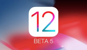 ios 12 beta 5