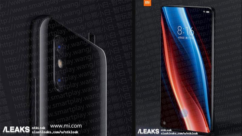 Xiaomi Mi Mix 3 nuovo video mostra il meccanismo a scorrimento