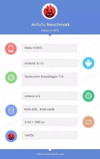 Meizu 16x benchmark