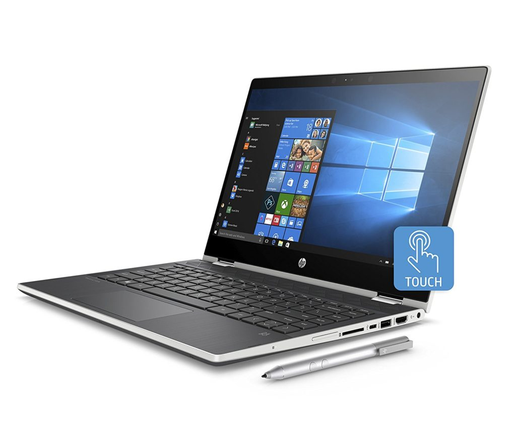 HP Pavilion x360 14-cd0022nl processore