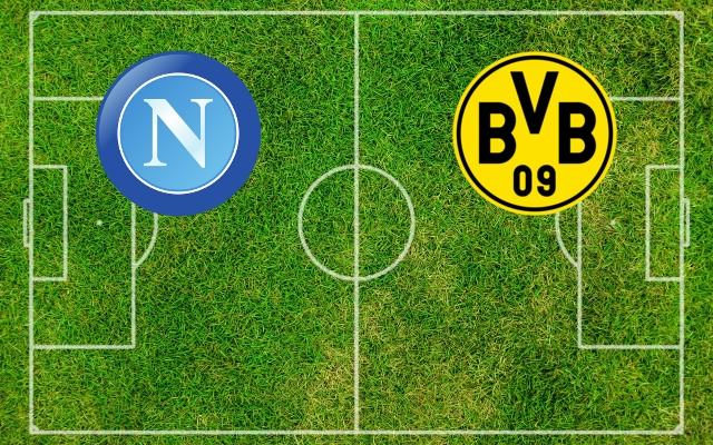 Napoli Borussia Dortmund in streaming