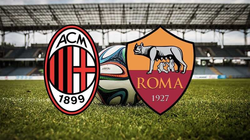 milan roma streaming