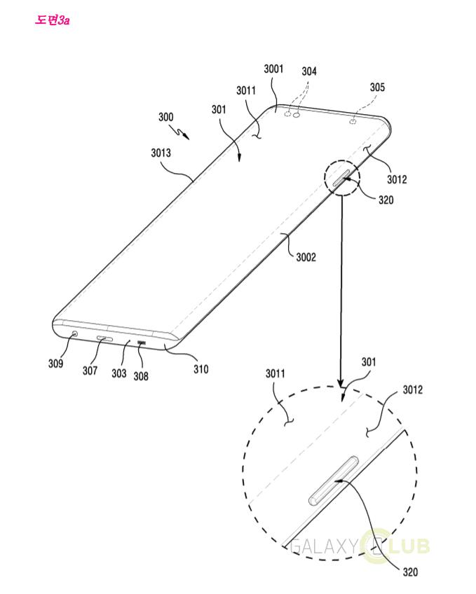 Samsung galaxy s10 brevetto