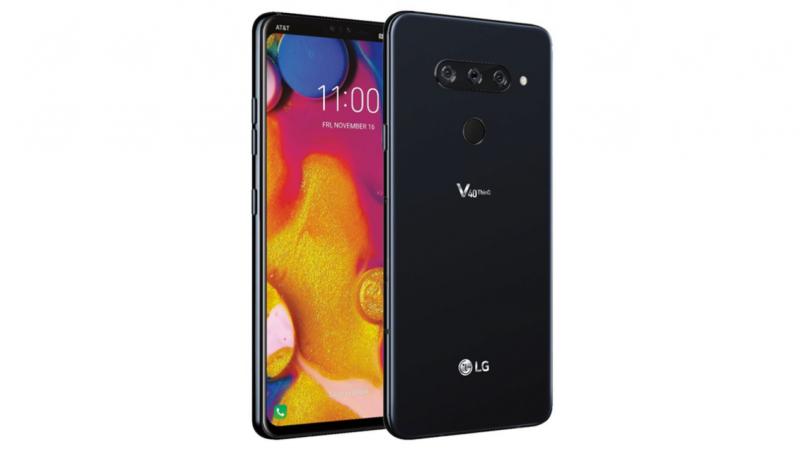 LG V40 ThinQ pubblicato il primo render ufficiale