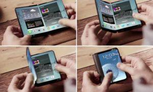 Samsung galaxy f pieghevole