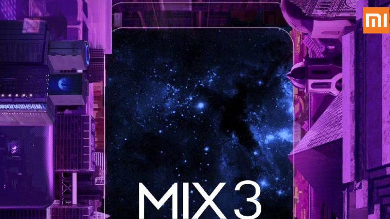 Xiaomi mi mix 3 10GB di ram