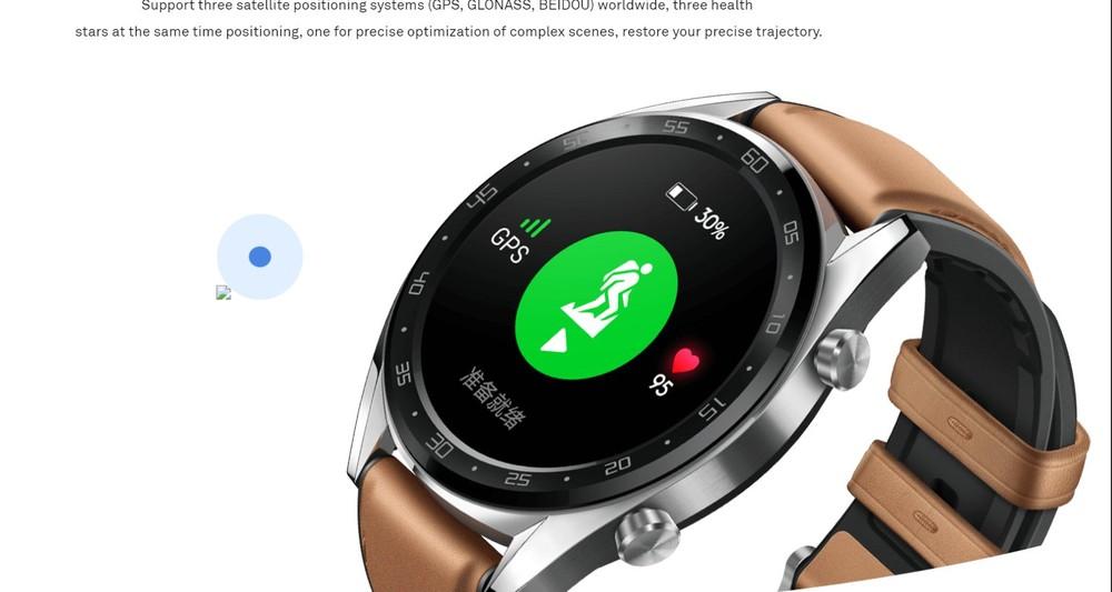 Huawei watch gt caratteristiche
