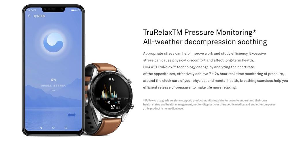 Huawei watch gt funzioni