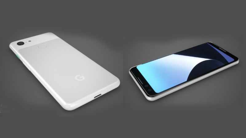 Google Pixel 3 XL design