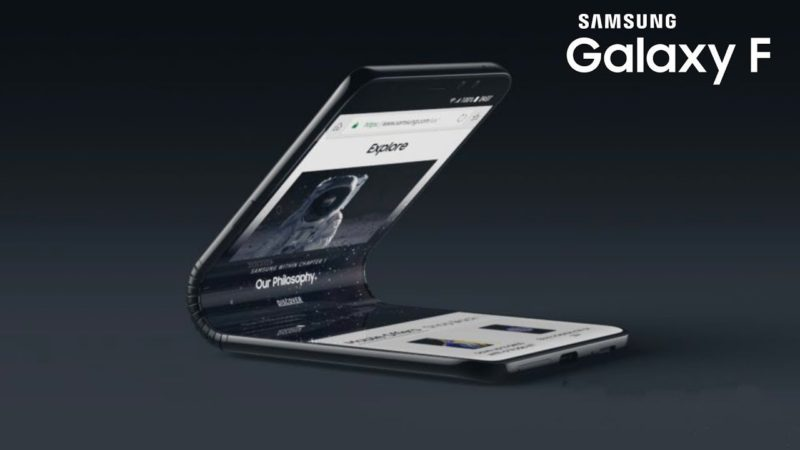 Samsung Galaxy F possible design svelato in un video