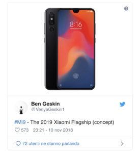 Xiaomi mi 9 concept