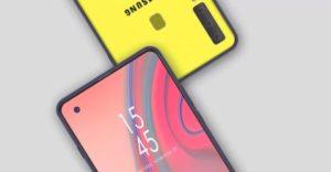 Samsung Galaxy A8s display infinity-o