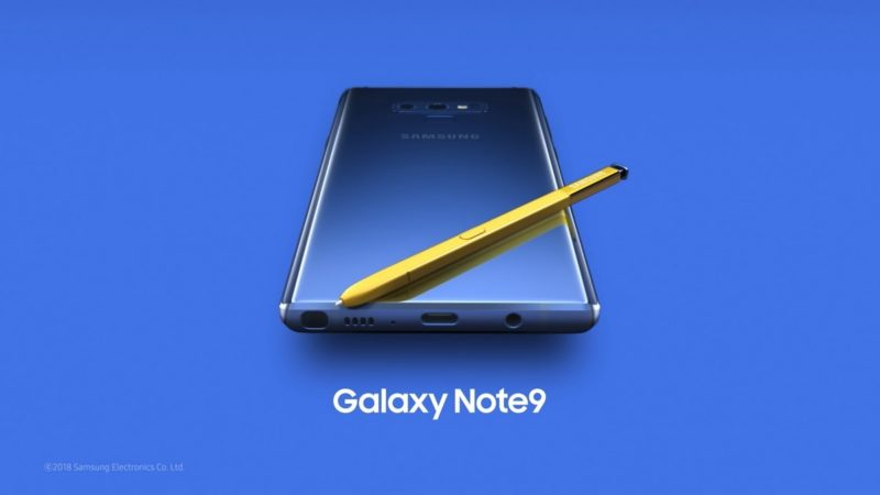 Android Pie 9 per Note 9
