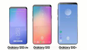 Samsung Galaxy S10 colorazioni