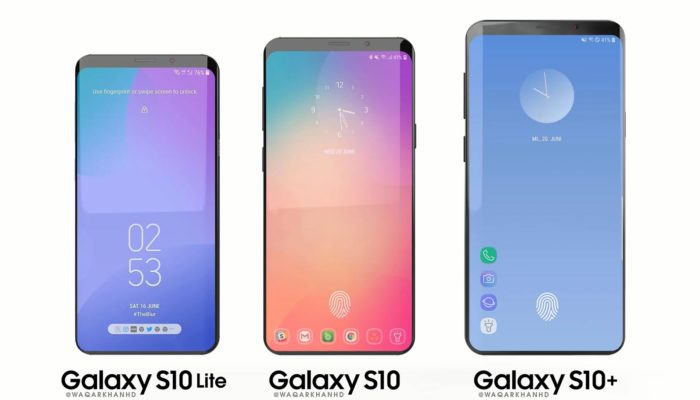 Samsung Galaxy S10 colorazioni