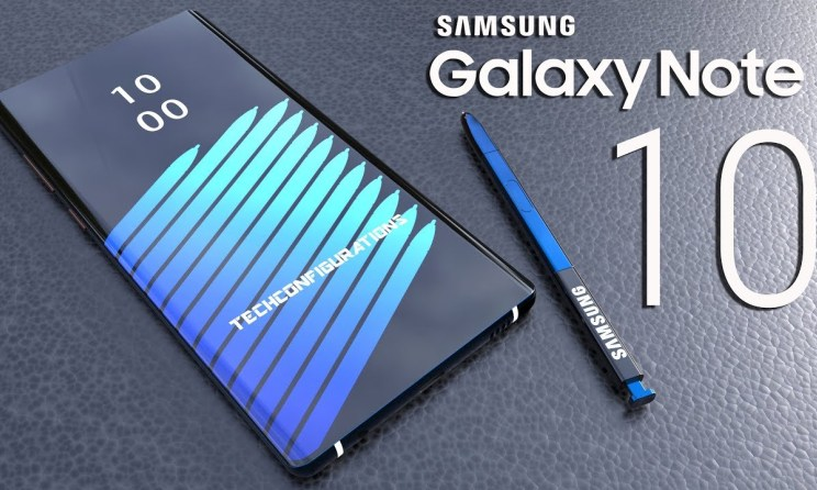 samsung galaxy note 10 display