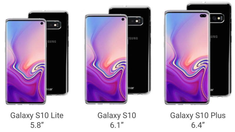 Samsung galaxy s10 tre varianti disponibili