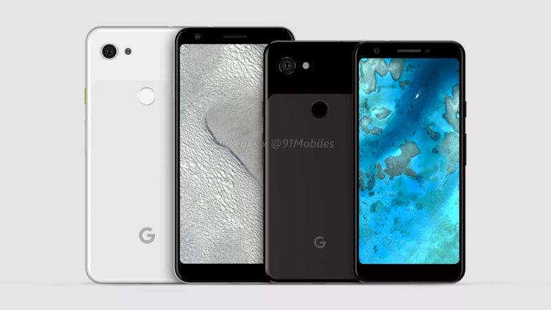 google pixel 3 lite video