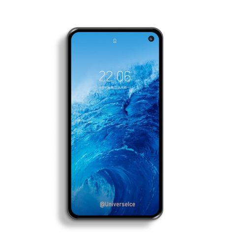 Samsung Galaxy S10 lite render