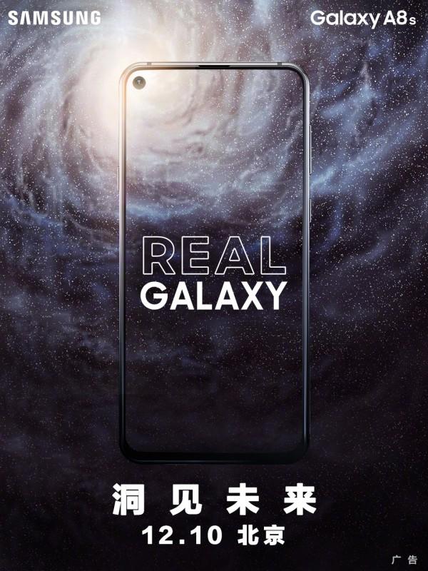 samsung galaxy a8s 10 dicembre
