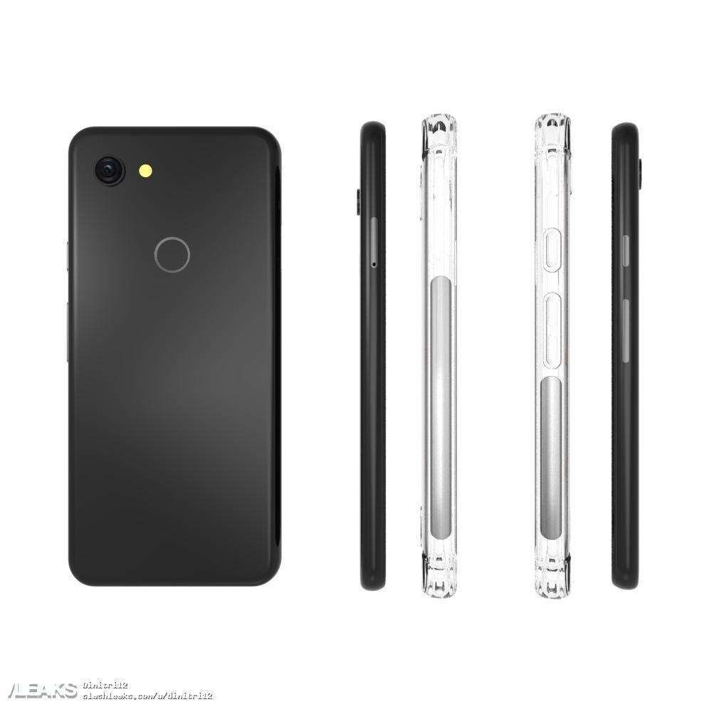 Google Pixel 3 Lite design