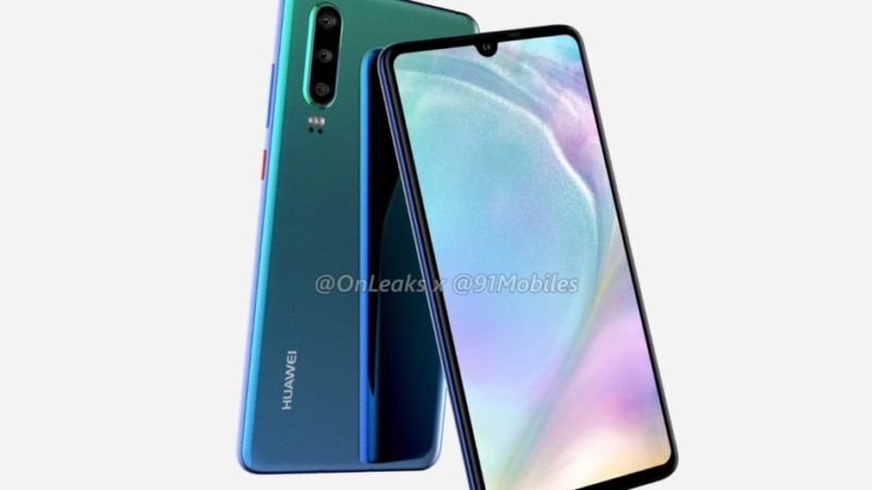 Huawei P30 rumors design