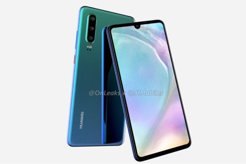 Huawei P30 rumors design