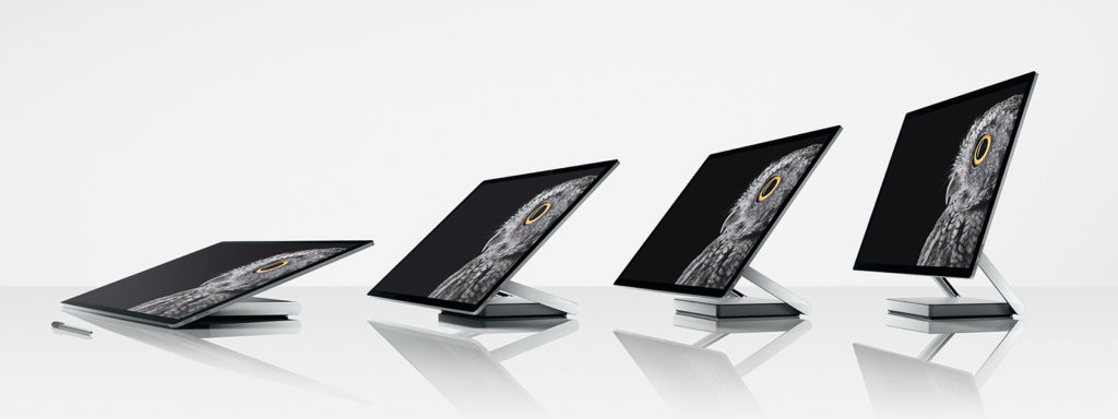 microsoft surface studio inclinazioni display