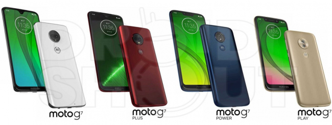 Moto G7 tutte le varianti
