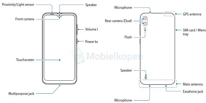 Samsung Galaxy M10 e M20 caratteristiche tecniche