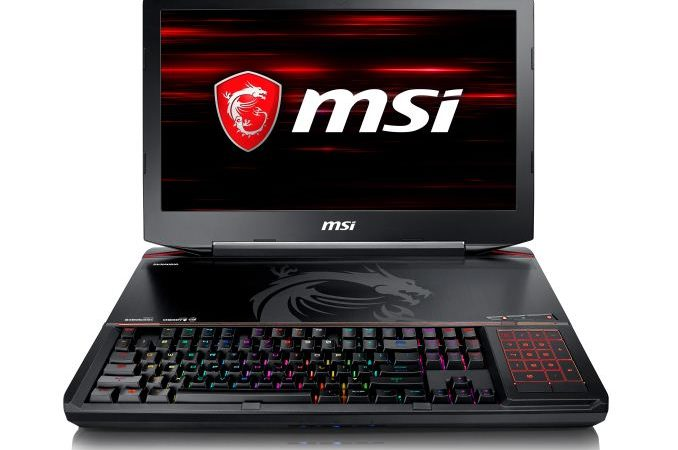 MSI GT63 display