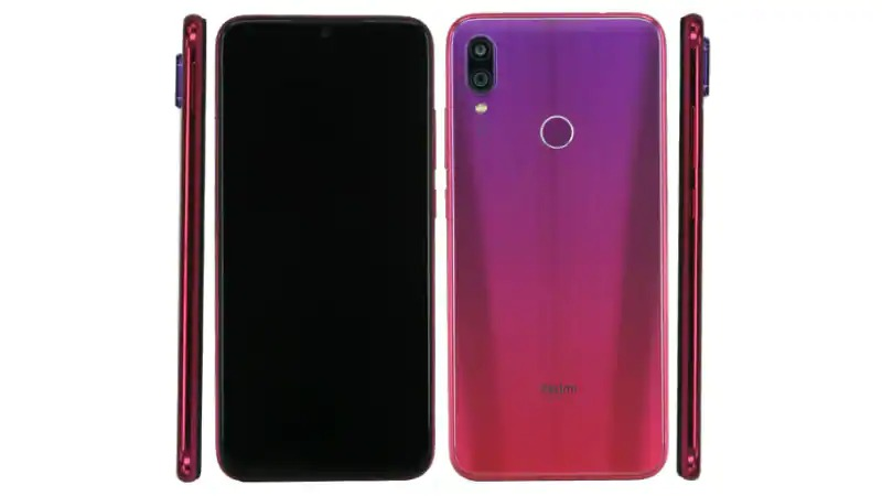 Redmi note 7 immagine leak