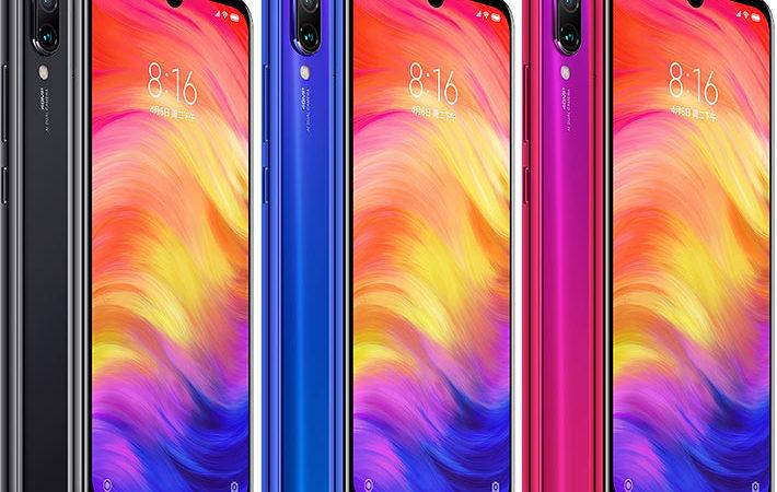 Xiaomi redmi note 7 colorazioni