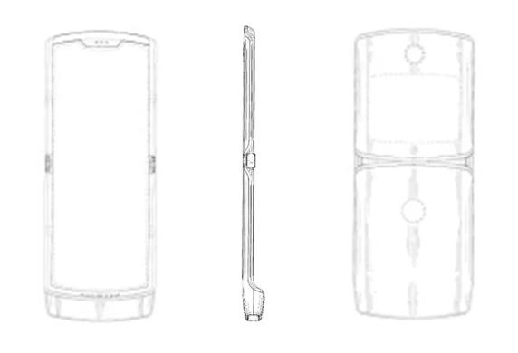 Motorola smartphone pieghevole brevetto