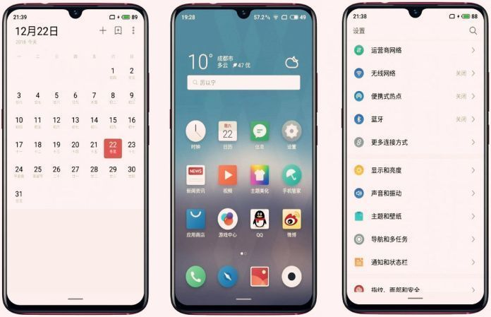 meizu note 9 leak