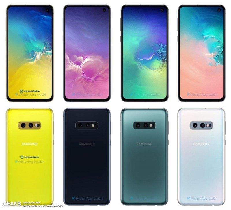 samsung galaxy 10e colorazioni