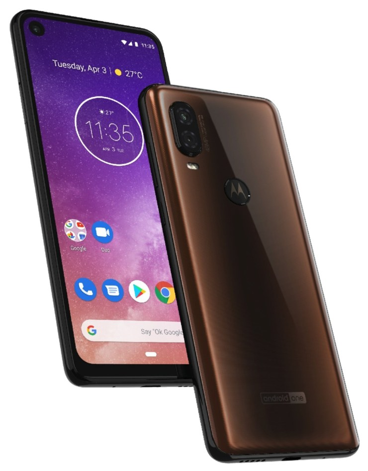 Motorola one vision immagine