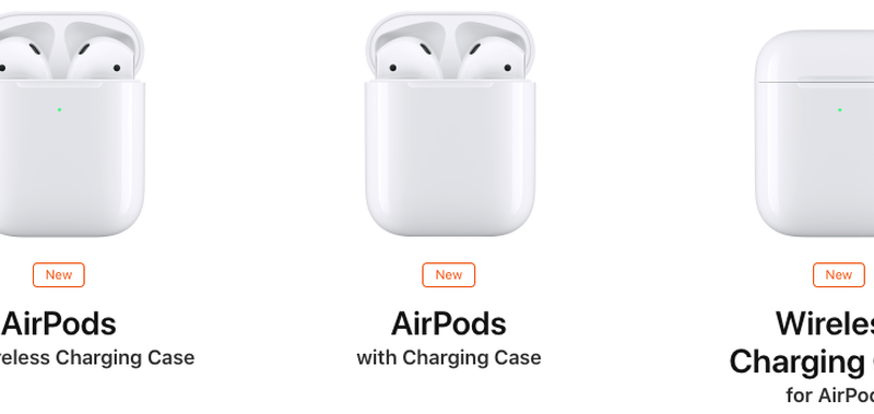 Airpods 2 ricarica wireless