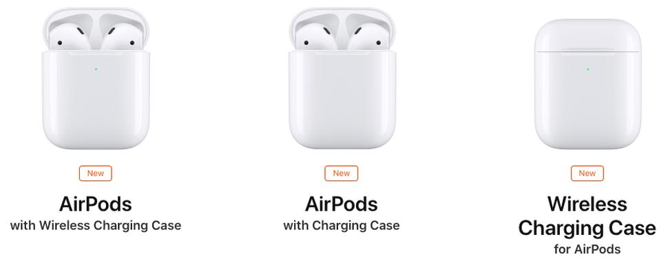 Airpods 2 ricarica wireless