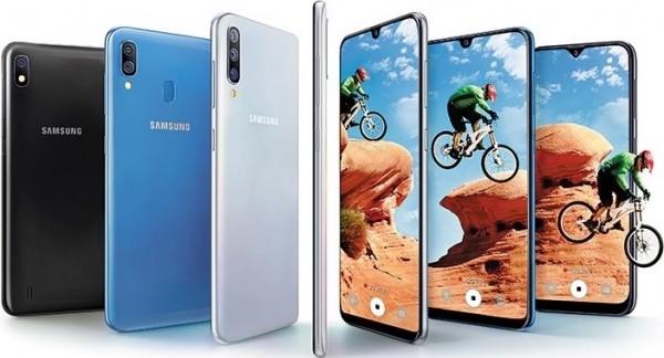 Samsung Galaxy A40 smartphone fascia media