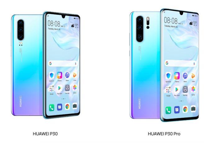 Huawei p30 e P30 Pro presentati ufficialmente