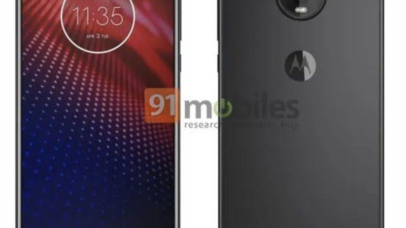 Motorola Moto Z4 Render stampa