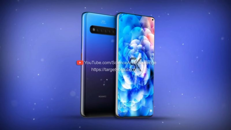 Huawei Mate 30 pro video